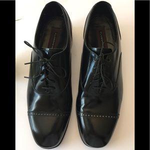 Florsheim🌷Blk Leather Lace Up Sz 11D